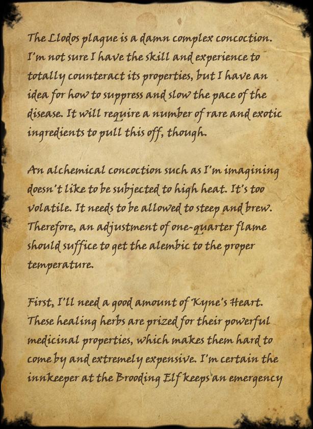 alchemist nilyne s notes elder scrolls fandom powered by wikia alchemist nilyne s notes page 1 page 1