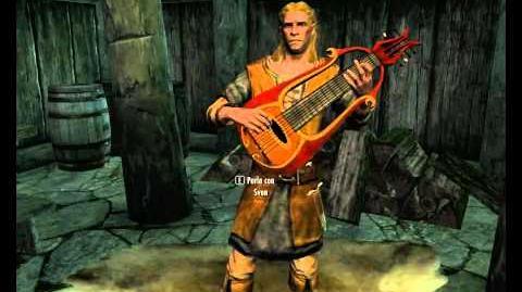 Il Bardo Sven di Riverwood canta Ragnar il Rosso The Elder Scrolls Skyrim ITA