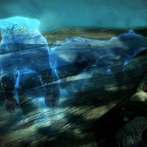 Peryite w postaci ślizgaczy z gry The Elder Scrolls V: Skyrim