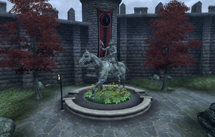Rislav Larich Statue