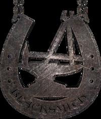 Sign small blacksmith