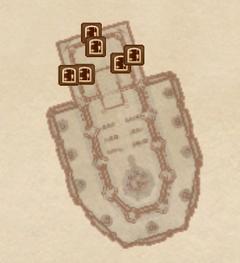 Великая часовня Талоса. План