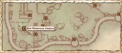 Дом Малинтуса Анкруса. Карта