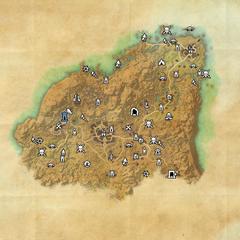 Ривенспайр-Дорожное святилище Гребня Тени-Карта