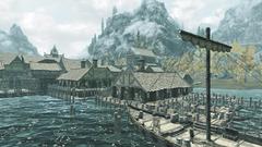 Рыбный порт Рифтена