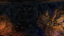 То, что осталось от тоннеля после взрыва