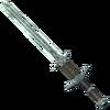 Небесный стальной двуручный меч