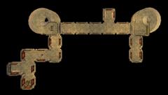 Северная стена Пелагиад. План