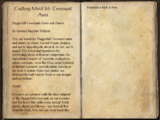 Crafting Motif 26: Daggerfall Covenant Style