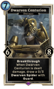 Dwarven Centurion (Legends) DWD