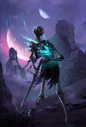 Legends - Wandering Skeleton (Card Art)