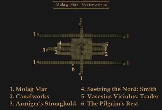 File:TES3 Morrowind - Molag Mar - Waistworks locations map.jpg