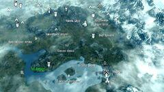 Зуб Фалдара карта