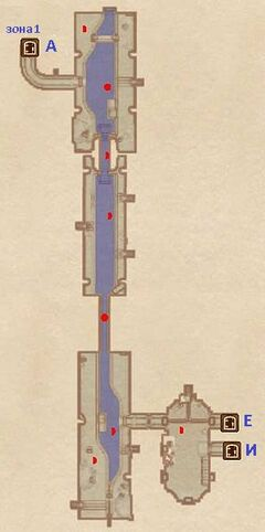 Северный туннель (2). План