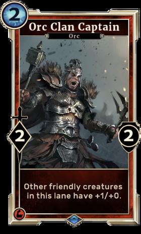 Card-Orc Clan Captain