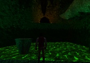 Redguard - The Goblin Caves - Stalactite Missing