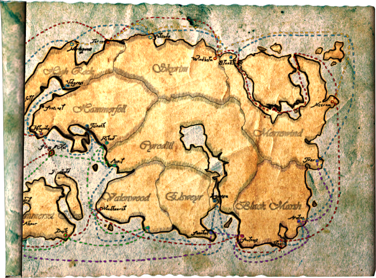 East Empire Shipping Map | Elder Scrolls | FANDOM powered by Wikia