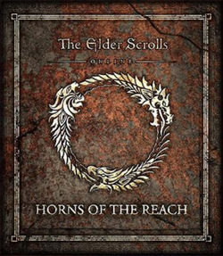 TES Online Horns Of The Reach Cover