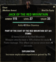 Coat of the Red Mountain - Jack 27