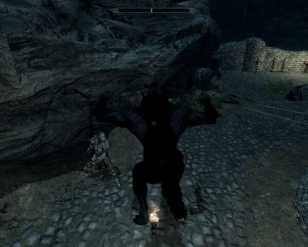 File:Skyrim bug werewolf torch.jpg