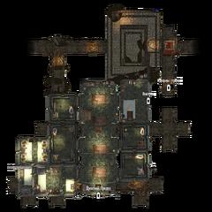 Драконий Предел — Подземелья план