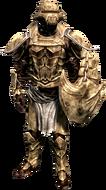 Костяная броня с наплечниками (м)