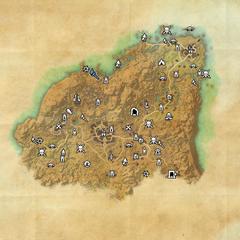 Ривенспайр-Руины Эрокии-Карта