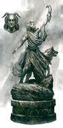 Clavicus Vile Statue ESO Concept Art