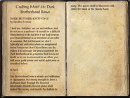 Crafting Motifs 36, Dark Brotherhood Bows