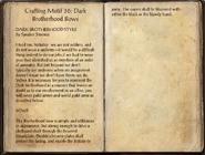 Crafting Motifs 36, Dark Brotherhood Bows
