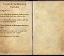Lessuns Lerned Garding Caravans