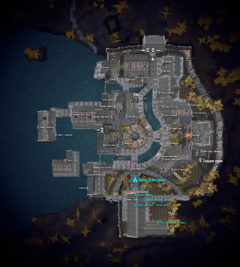 Крепость Миствейл на карте Рифтена