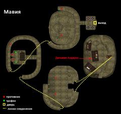 Мавия. План