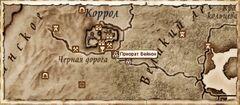 Приорат Вейнон. Карта