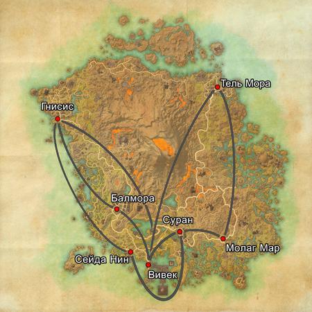 Вварденфелл пути