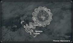 Покои Архимага карта