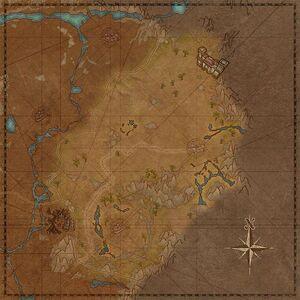 Рассветный луг (карта)