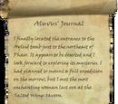 Aluvus' Journal