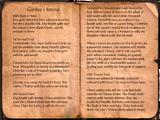 Gordag's Journal