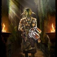 Recruit (Argonian) card art