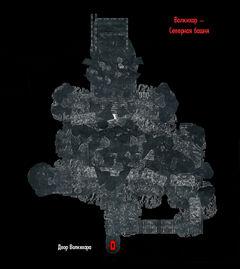 Волкихар 07 - Северная башня - план