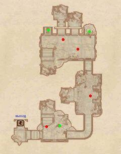 Зеддефен - Руины. План