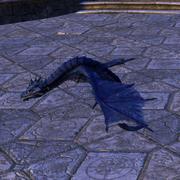 Синий бес-дракон
