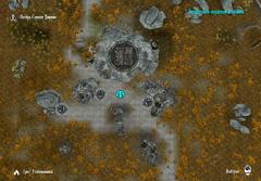 Тайна старых руин - план