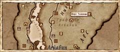 Форт Телеман (карта)