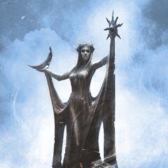 Grafika koncepcyjna Kaplicy Azury do gry The Elder Scrolls V: Skyri