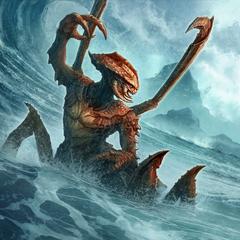 "Karta ""Chrzęstoskóry dreugh"" z gry The Elder Scrolls: Legends"