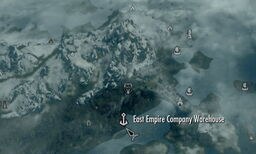 East empire warehouse map