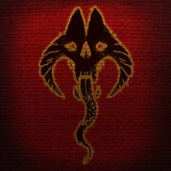 Herb Molag Bala ze sztandarów z gry The Elder Scrolls Online