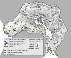 Кланфир карта